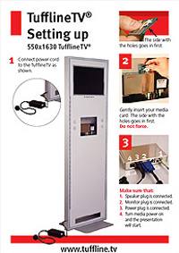 TufflineTV set up instructions