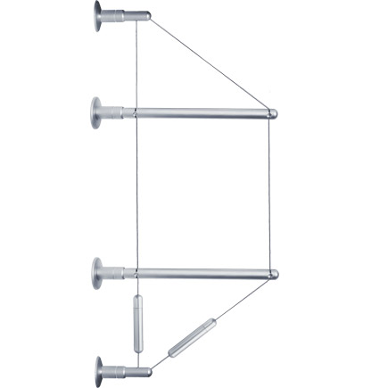 Wall mounted shelving kit