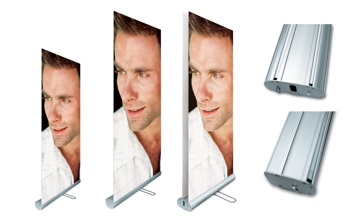 Roll Up Banner Stands Flash